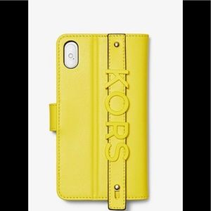 Michael Kors iPhone XS MAX Leather case-Brand New